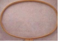 Wood Quilt Hoop 18inX27in