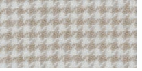 Wool Houndstooth Fabric Fat Quarter Snow Cream
