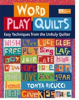 Word Play Quilts by Tonya Ricucci