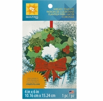 Wreath Template 4inx6in 1/Pkg