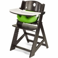 Espresso High Chair + Infant Insert
