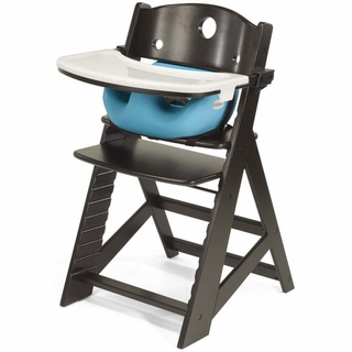 Height Right High Chair + Infant Insert +Tray + Tray Cover