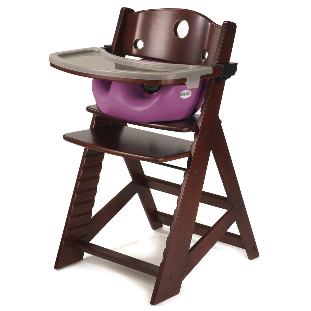 Adjustable Wooden Hight Chair Baby Feeding Seat