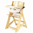 Natural High Chair + Infant Insert