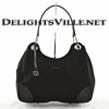 Gucci 257265 FW11G Colbert Shoulder Handbag Medium Black