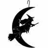 Witch-Moon Silhouette HOS-219 Village Wrought Iron