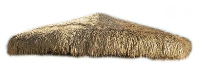 13ft Commercial Grade Palapa Thatch Umbrella Cover Top