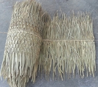 "30"" x 30' Ridge Cap Palm Thatch Roll"