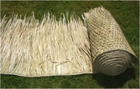 "30""x 6ft Commercial Grade Tiki Thatch Roll"