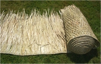 "30""x 8ft Commercial Grade Tiki Thatch Roll"