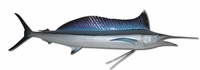 "75"" Spearfish Half Mount Fish Replica"