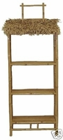 Bamboo Commercial Display Shelf Unit