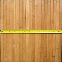 Bamboo Wainscoting Wallpaper Carbonized 4'x8'