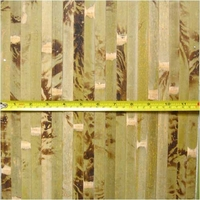 Bamboo Wainscoting Wallpaper Tortoise 4'x8'