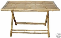 Rectangle Bamboo Eco Friendly Table
