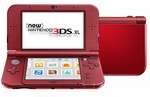 New Nintendo 3DS XL Red Console