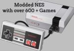 Nintendo NES Classic Edition Modded with 600 + Games
