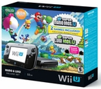 Nintendo Wii U 32gb Deluxe Bundle + New Super LuigiU + New Super Mario Bros. U