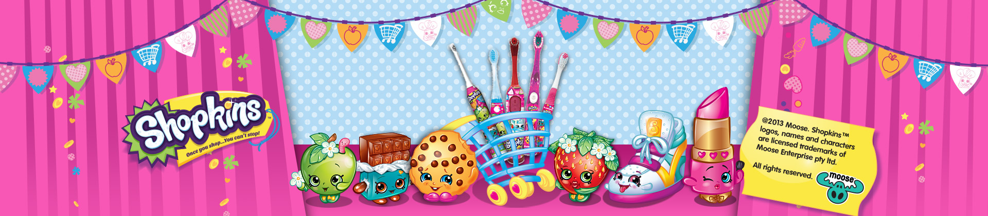 Shopkins Toys From Moose
