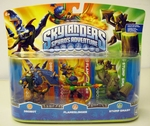 Skylanders Spyro Adventure Triple Character Pack (Drobot, Flameslinger, Stump Smash)