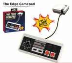 The Edge Gamepad - NES Classic Edition Controller + Free Bonus Cheat Codes