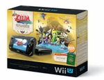 Wii U 32gb Black Zelda Limited Edition Bundle: The Legend of Zelda: Wind Waker HD
