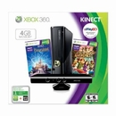 Xbox 360 4gb Kinect Console + Kinect Adventures Game + Disneyland Adventures Game