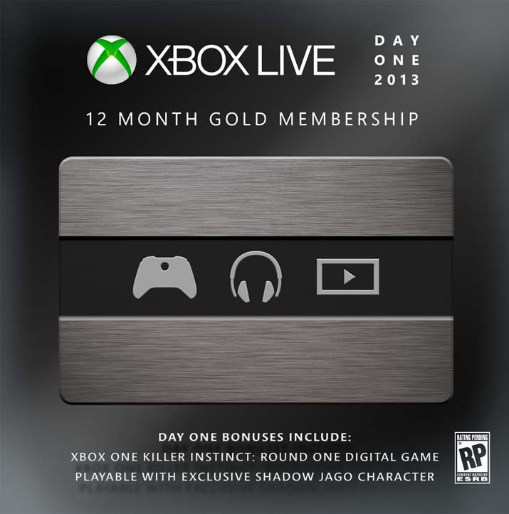how to get xbox live membership on xbox one
