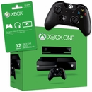 XBox One Bundle + 2 Controllers + 1 Controller Charging Station + 1 Year Gold Membership Card