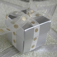 "2"" Silver Square Boxes with Lid"