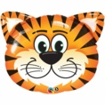"30"" Tickled Tiger Head Shaped Balloon"