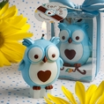 Adorable Blue Owl Candle Favors