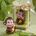 Adorable Jungle Monkey Candle Favor