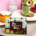 Adorable Owl Design Picture Frames / Placecard Holders