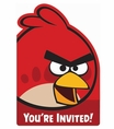 Angry Birds Postcard Invitations