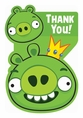 Angry Birds Postcard Thank You