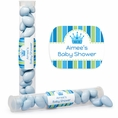 Baby Prince Baby Shower Custom Candy Tubes
