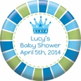 Baby Prince Baby Shower Custom Magnet