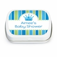 Baby Prince Baby Shower Custom Mint Tins