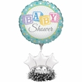 Baby Shower Balloon Centerpiece