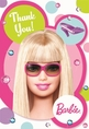 Barbie Thank You Notes