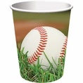 Baseball 9 oz Cups