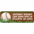 Baseball Custom Address Labels