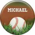 Baseball Custom Button