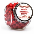 Baseball Custom Candy Jars