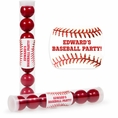 Baseball Custom Candy Tubes