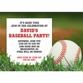 Baseball Custom Invitation