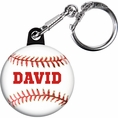 Baseball Custom Keychain