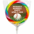 Baseball Custom Lollipops