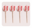 Baseball Molded Pick Candle Set